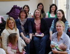 Group of mums who did an alpha course